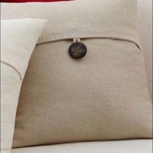 Pottery Barn Texture Linen Pillow Cover